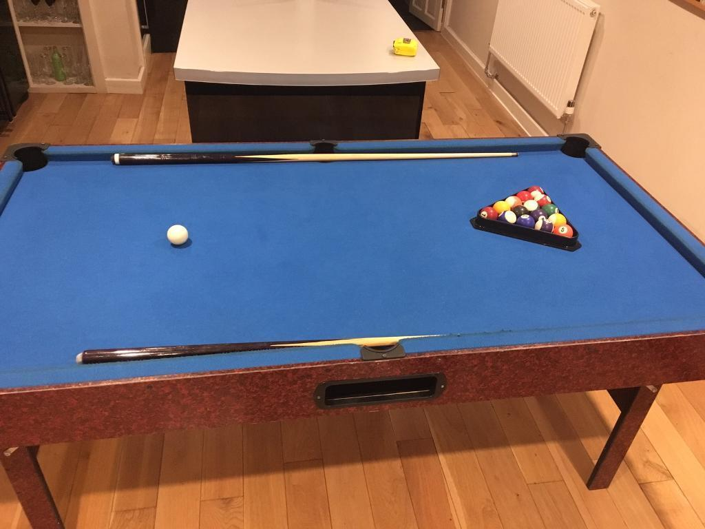 """Pool Table and Table Tennis Top - 5'10"""" X 3'2"""""""