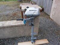2 hp 4 stroke outboard motor