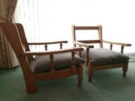Farmhouse chairs x2