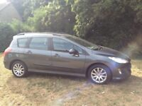 PEUGEOT 308 DIESEL ESTATE 2010 MOT FULL SERVICE HISTORY A CHEAP CAR TO TAX AND INSURE