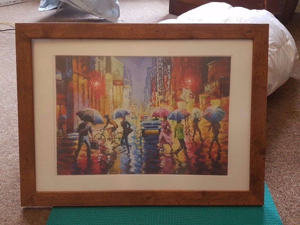 Faux wood frame 26 x 19 inch (picture 19 x 13 inch) | in Kilburn ...