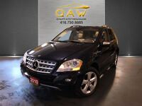 2010 Mercedes-Benz M-Class ML350 BlueTEC NAVIGATION LEATHER SUNR