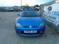 MG TF 1.8 Cool Blue 2dr (blue) 2003