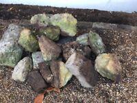 Rockery rocks Heavy Mixed Sizes FREE