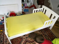 John Lewis Toddlers Bed & Mattress