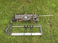 Hand mitre saw for sale, in good condtion.