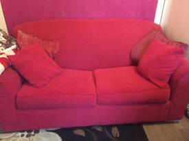 Next double metal action sofa bed