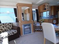 Cheap immaculate 2 bedroom static caravan for sale Devon park open 12 months