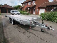 New Flatbed Car Transporter Recovery Trailer 5.0m long, 2700 GVW