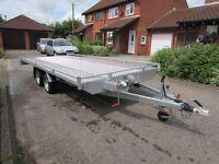 New Car Transporter Trailer 5.0m long, 2700 GVW