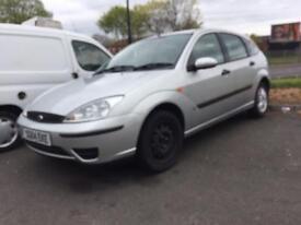 Ford Focus 1.6 2004 5dr - MOT&TAX - drives good - bargain £295