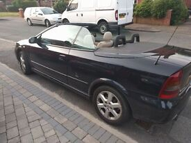 Vauxhall Astra 2002 1.8L Convertible