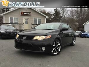 2011 Kia Forte Koup SX SPORTY 6 SPEED!!