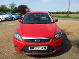 Ford focus 1.8 TDCI Service History 5 Door Red