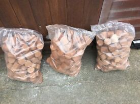 Briquettes, Timber Briquettes for wood burners, fire pits and chimineas