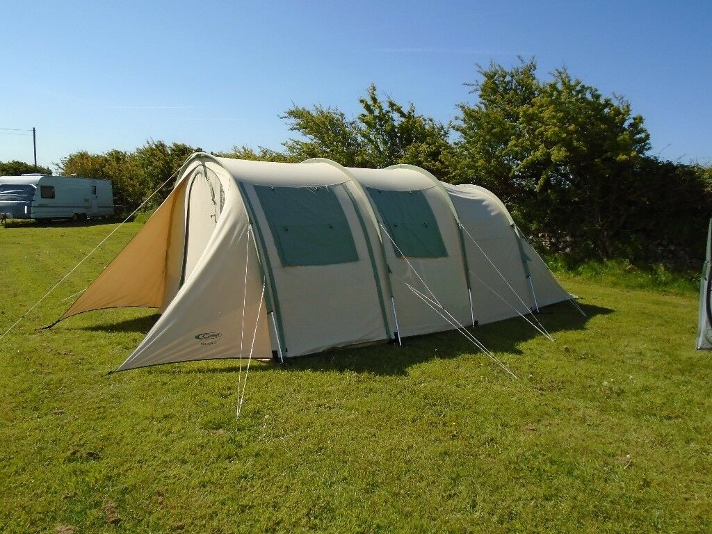 GELERT NANGA CANVAS TENT SUPERB QUALITY IDEAL FOR FOUR PEOPLE