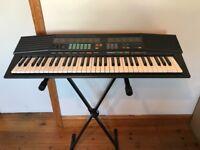 Yamaha Portafone PSR-38 Electronic Keyboard Synthesiser with Stand