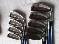 Ladies MIZUNO. Sterling. 9 Irons. 3 to Mid/Wedge.