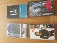 Collection of cassette tapes