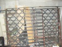 For Sale Victorian Iron Gates