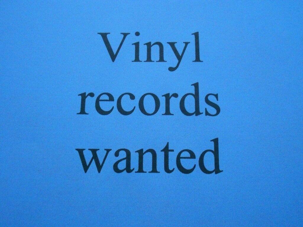 VINYL RECORDS WANTED Rock, Reggae, Punk, Ska, Soul, Blues, 60's 70's Collection Lot Joblo