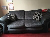 Two , large 2 seater sofas
