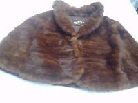 *CHARITY SALE* Vintage fur shawl / stole (14)