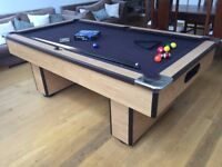 Slate Pool Table Great Condition with Accessories