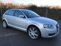 2007 Audi A3 1.6 sportback special edition 105bhp 5 speed needs bit tax on body