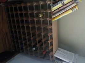 72 bottle wine rack