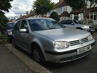 VW GOLF TDI 1.9 SE AUTOMATIC AND LEATHER SEATS LOVELY SPEC FSH