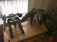Metal Gear Solid 3A Full Size Rex and Ray Figures DEAL