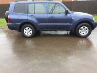 2006 06 Mitsubishi Shogun 3.2 DI-D LWB 4X4 5 Door 4Work 7 Seater Auto Diesel Leather A/C Tow Bar