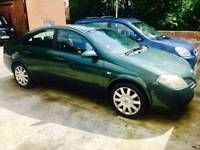NISSAN PRIMERA 2004 1.8 PETROL MANUAL 7 MONTH MOT