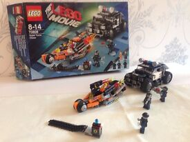 Boxed LEGO Movie Super Cycle Chase Set 70808