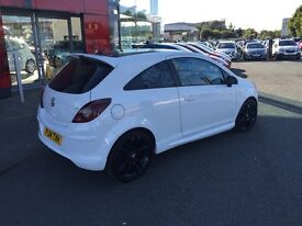 2014 White Vauxhall Corsa 1.2 Limited Edition- Seriously Stunning Car!