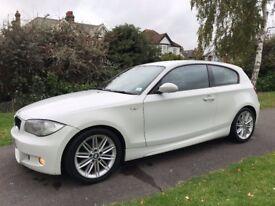 BMW 1 Series 2.0 118i M Sport ***WHITE COLOUR***