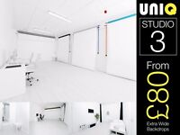 LONDON Photo Studio For Hire Rental Green Screen Photography Video Casting Event Space Film Location