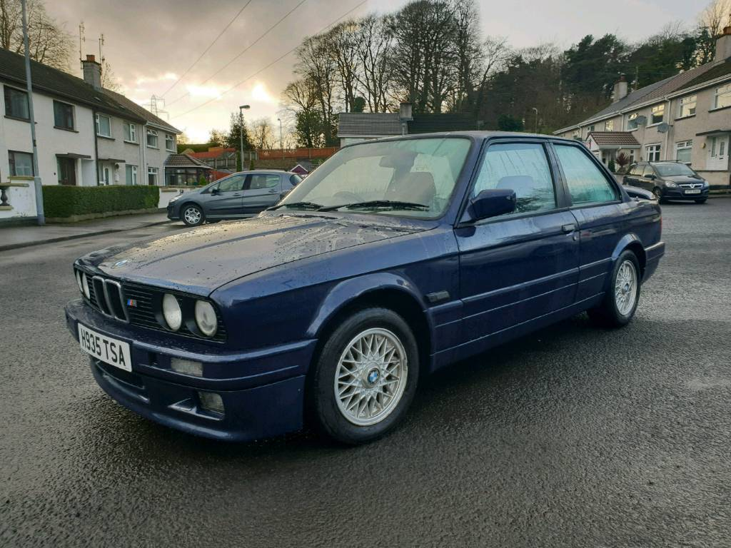 1990 bmw e30 318is mtech 2 with lsd in londonderry. Black Bedroom Furniture Sets. Home Design Ideas