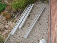 concrete fence posts... new/old stock