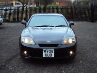 HYUNDAI COUPE 1.6 S 3 DOOR COUPE BLACK HALF LEATHER SEATS CD PLAYER SERVICEHISTORY LONGMOT LADYOWNER