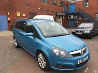 Vauxhall Zafira SRi Auto Diesel Good Condition with history and mot
