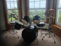 Yamaha Stage Custom 5 Drum Kit and Cymbals