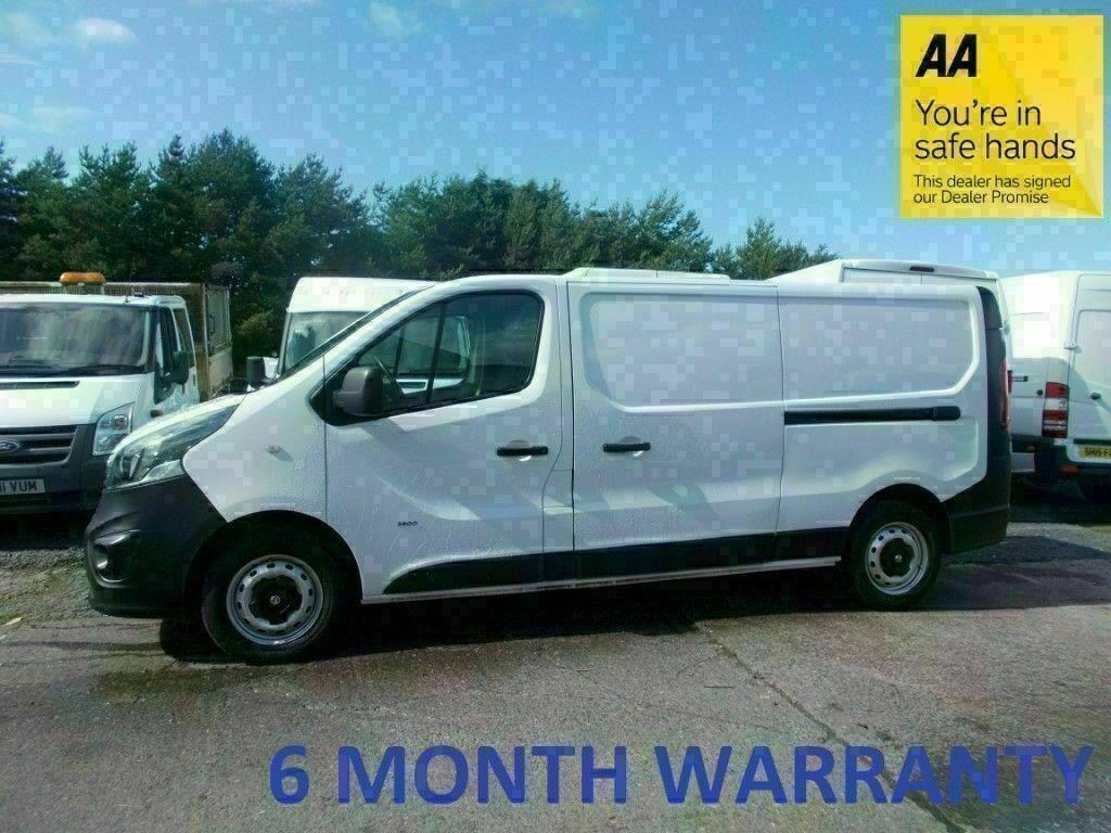 daf32f2de152f5 Vauxhall Vivaro 2.9T 1.6 CDTi 115 LWB ECO