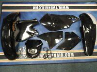 New Acerbis Plastic Kit Halo Headlight DRZ 400 SM E S 00-14 Black Plastics