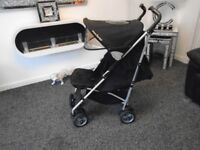 Mc laren umberella fold buggy with new raincover