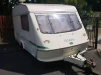 Elddis 2 berth 1996r with full awning