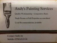 Andy's Painting Services