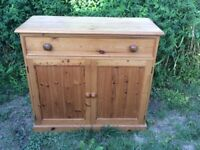 Wooden cabinet / cupboard and drawer