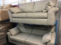NEW/EX DISPLAY John Lewis SOLINI GREY 3 + 2 SEATER SOFAS, SUITE, SETTES 70% Off RRP